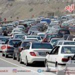 ترافیک سنگین در جاده های گیلان/ محور سراوان مسدود شد