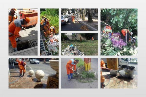 پاکسازی هفتگی محلات شهر رشت وارد مرحله نهم شد