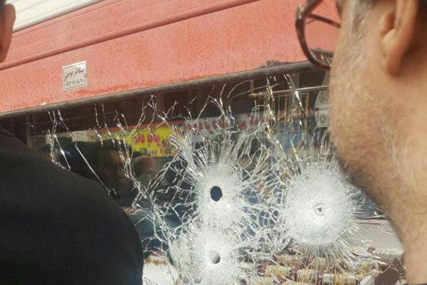 حمله مسلحانه به بانک صادرات / همه وحشت کردند