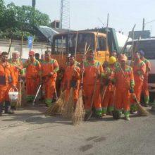 هفته چهارم از پاکسازی محلات نواحی ۱۵ گانه شهرداری برگزار شد