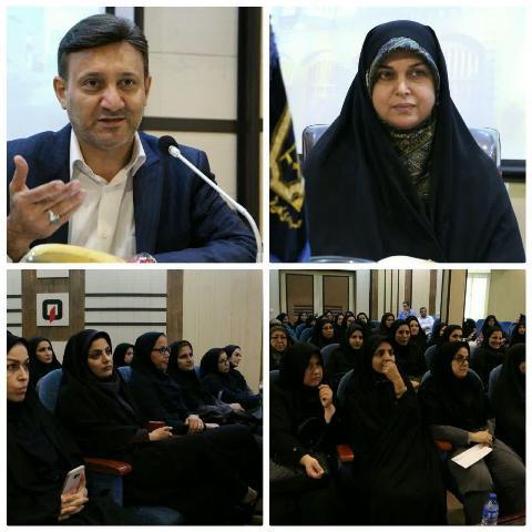 گزارش تصویری نشست شهردار رشت با بانوان شاغل در شهرداری رشت