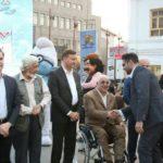 جشن پایان فصل دوم تئاتر خیابانی در پیاده راه فرهنگی