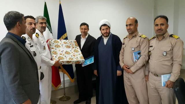گزارش تصویری نشست شهردار رشت با فرماندهان نیروی دریایی باقرالعلوم ارتش جمهوری اسلامی ایران