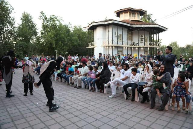 جشنواره یک روز بازی با خانواده از سوی شهرداری رشت برگزار شد