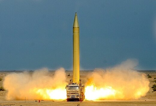 موشک ایرانی که در کمتر از ۱۰ دقیقه میتواند اسرائیل را با خاک یکسان کند +عکس