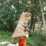 گزارش تصویری از حوزه مدیریت خدمات شهری از هفته چهاردهم طرح پاکسازی هفتگی محلات شهر رشت