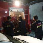 گزارش تصویری بازدید شبانه شهردار رشت از ایستگاه ۷ آتش نشانی شهر رشت