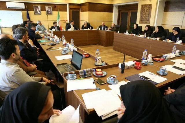گزارش تصویری شورای اداری شهردار رشت با محوریت وصول درآمدهای شهرداری