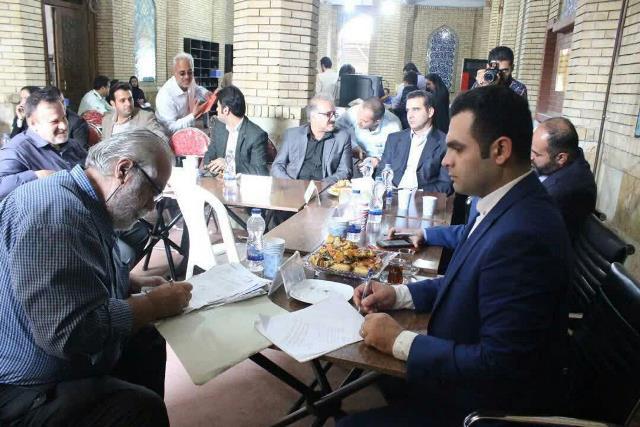 گزارش تصویری برگزاری میز خدمت شهرداری رشت با محوریت شهرداری منطقه دو با حضور شهردار رشت