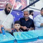 گزارش تصویری از ایستگاه صلوات عید سعید غدیر خم