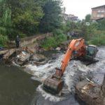 لایروبی رودخانههای رشت پیش از شروع فصل بارندگی آغاز شد