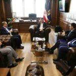 گزارش تصویری دیدار و نشست شهردار رشت با رئیس سازمان صنعت، معدن و تجارت استان گیلان