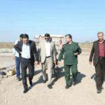 گزارش تصویری حضور و بازدید شهردار رشت از محل احداث مرکز فرهنگی و موزه دفاع مقدس استان گیلان