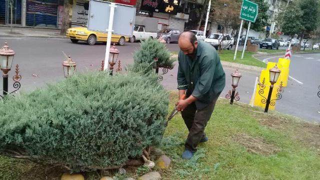 گزارش تصویری حوزه مدیریت خدمات شهری از هفته بیست و نهم طرح پاکسازی هفتگی محلات شهر رشت