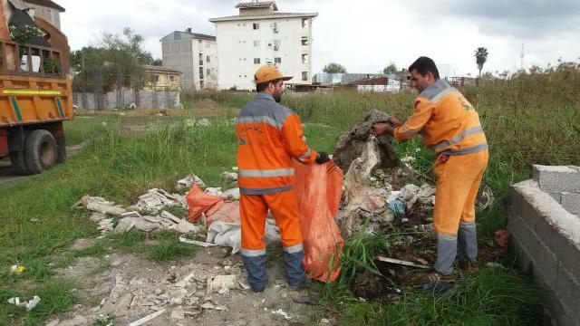 گزارش تصویری حوزه مدیریت خدمات شهری از هفته بیست و چهارم طرح پاکسازی هفتگی محلات شهر رشت