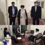 استاندار و رئیس مجمع نمایندگان گیلان با آیت الله اشکوری دیدار کردند