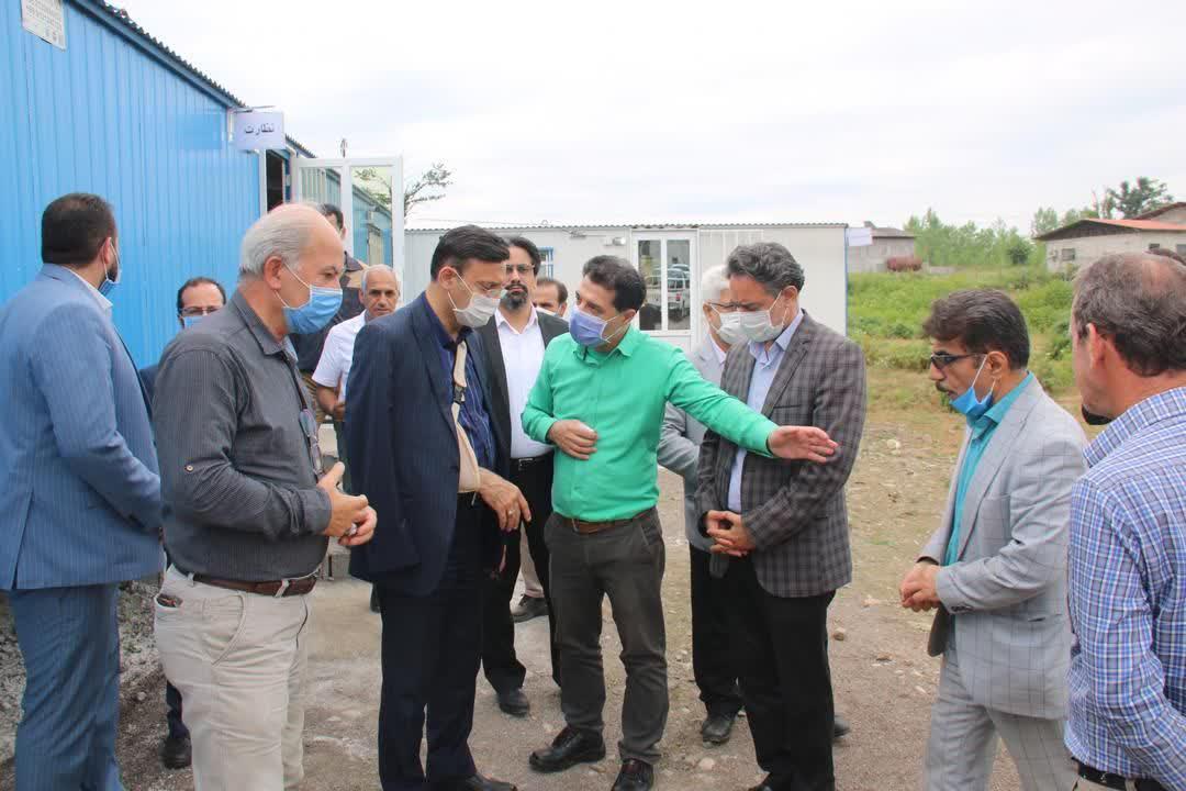 بازدید شهردار رشت از روند احداث پروژه زباله سوز سراوان