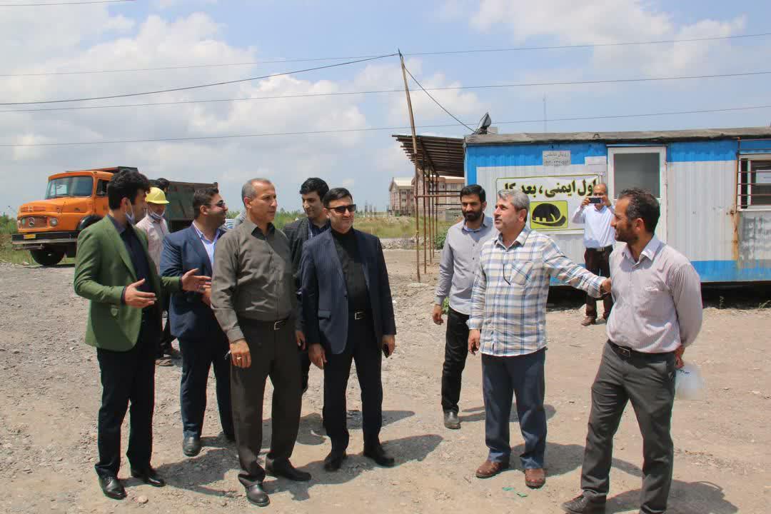 بازدید شهردار رشت از روند ساخت موزه دفاع مقدس گیلان