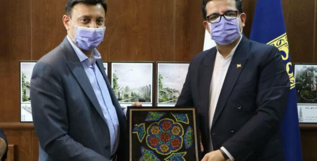 دیدار شهردار رشت با سخنگوی وزارت امور خارجه جمهوری اسلامی ایران وسفیر ایران در آذربایجان