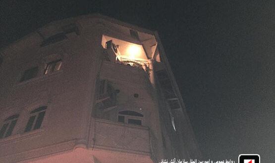 انفجار در خیابان منظریه رشت بانوی جوان را راهی بیمارستان کرد/ آتش نشانی رشت
