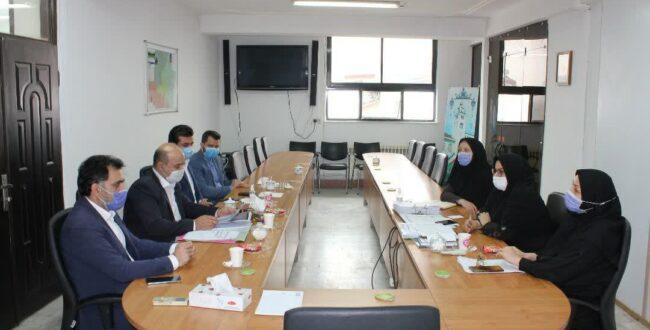 جلسه پیگیری وصول مطالبات شهرداری رشت برگزار شد