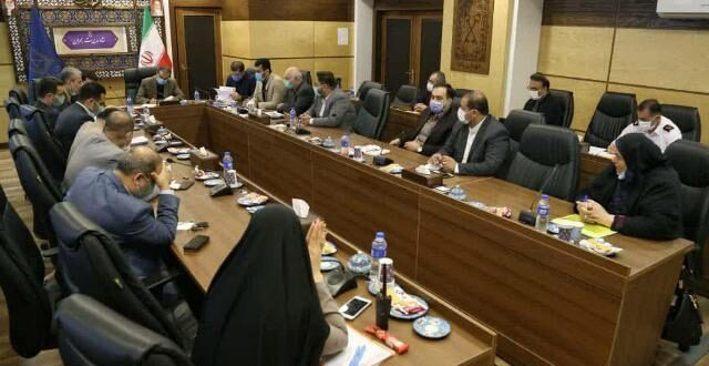 جلسه ستاد مدیریت بحران شهرداری رشت برگزار شد