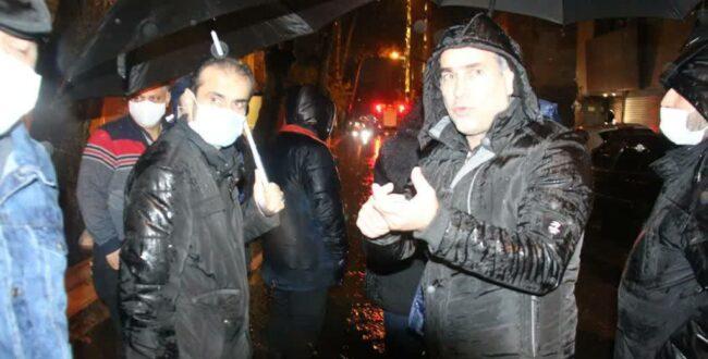 تلاش شهرداری رشت در پی بارندگی شب گذشته