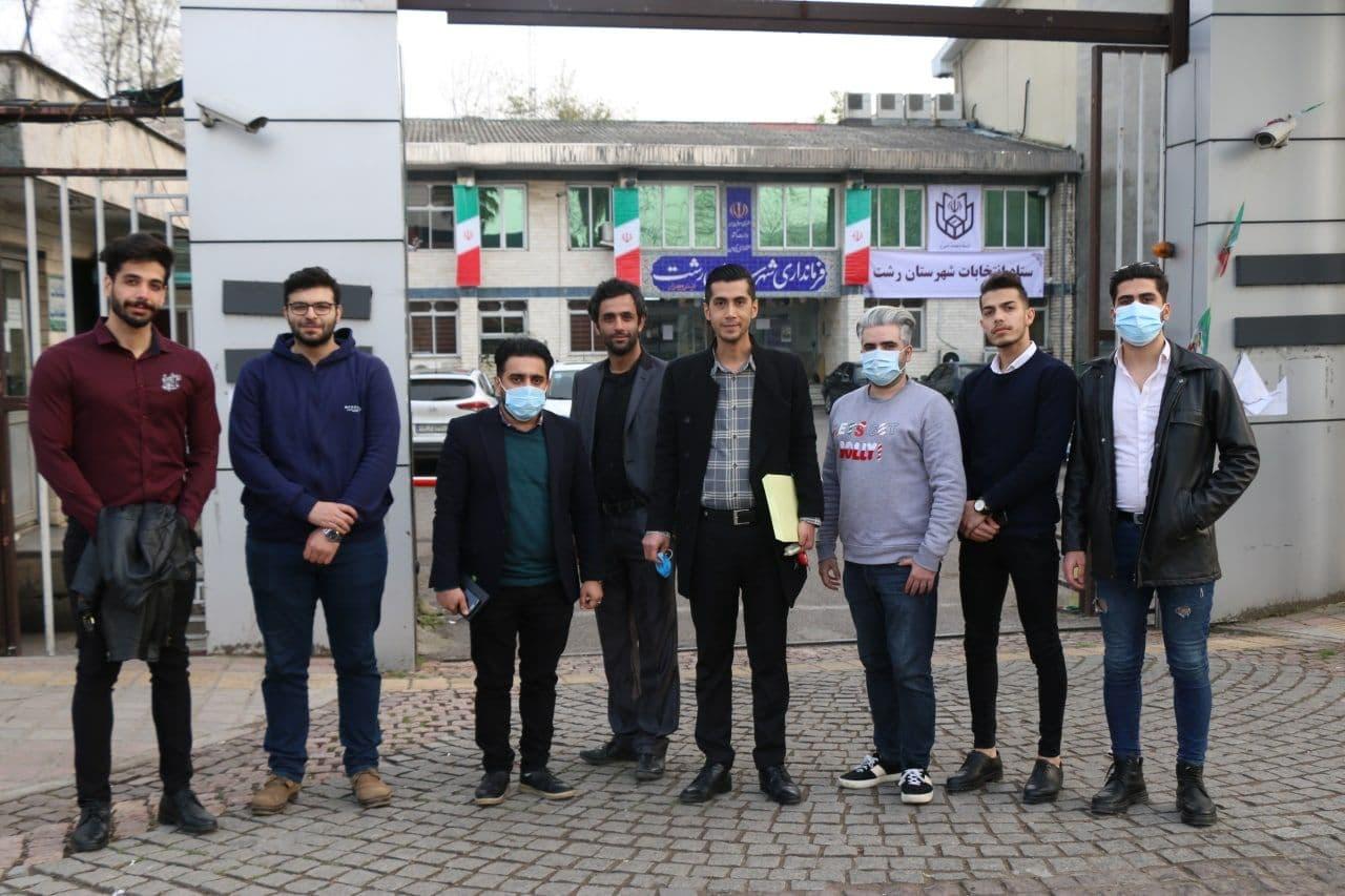 پس از حضور بر سر مزار میرزاکوچک خان جنگلی؛بهنیا ثابت رفتار پا به عرصه انتخابات شورای شهر رشت گذاشت