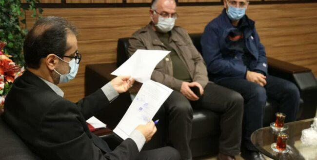 ملاقات مردمی شهردار رشت با شهروندان در منطقه پنج شهرداری رشت