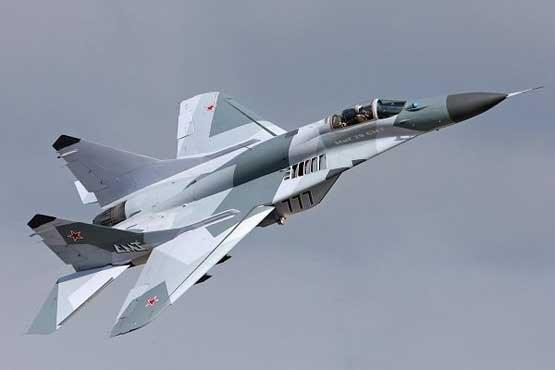 سقوط یک فروند جنگنده در دریای خزر/خلبان ناپدید شد