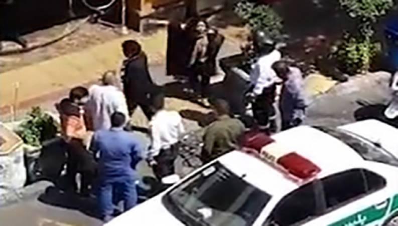 حمله ۲ دختر هنجارشکن به دختر با حجاب