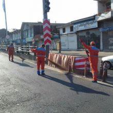 هفته پنجم از پاکسازی محلات نواحی ۱۵ گانه شهرداری برگزار شد