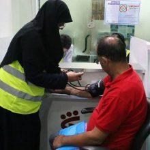 گزارش تصویری اجرای طرح بسیج ملی کنترل فشار خون بالا با حضور کارکنان و شهروندان در منطقه یک شهرداری رشت