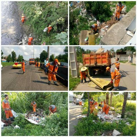 گزارش تصویری حوزه مدیریت خدمات شهری از هفته دوازدهم طرح پاکسازی هفتگی محلات شهر رشت