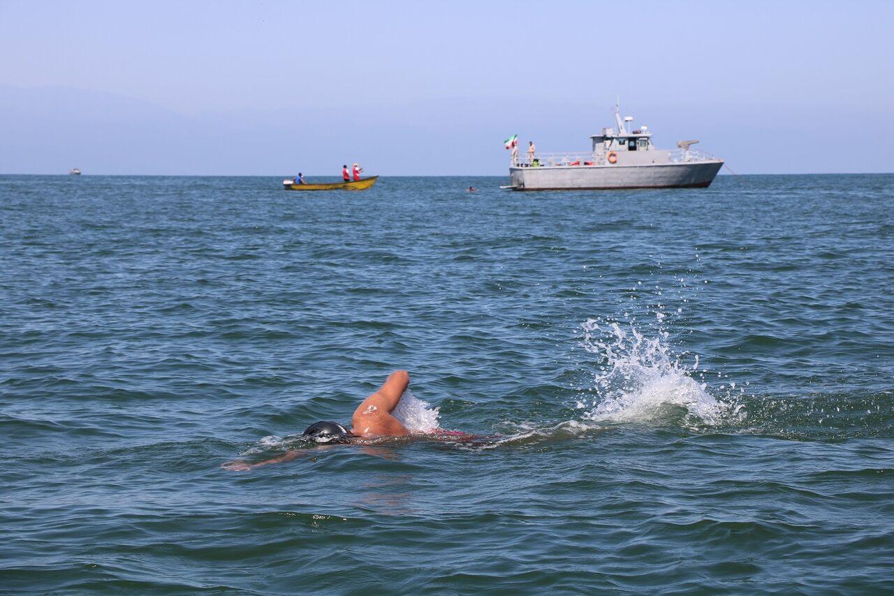 بندرانزلی میزبان نخستین مرحله مسابقات شنا لیگ آبهای آزاد