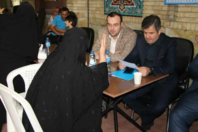 گزارش تصویری برگزاری میز خدمت شهرداری رشت با محوریت شهرداری منطقه سه با حضور شهردار رشت