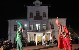 اجرای نمایش های مذهبی در پیاده راه فرهنگی رشت