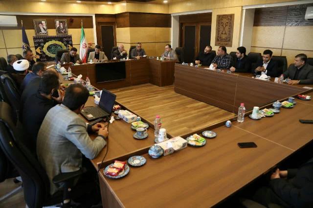 گزارش تصویری جلسه کمیته خدمات شهری ستاد اربعین استان گیلان