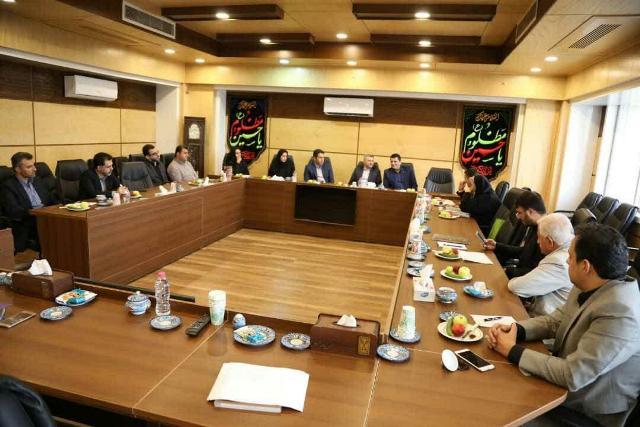 گزارش تصویری تشکیل جلسه هیات مدیره شرکت کود آلی با حضور شهردار ، معاونین و اعضای هیات مدیره شرکت