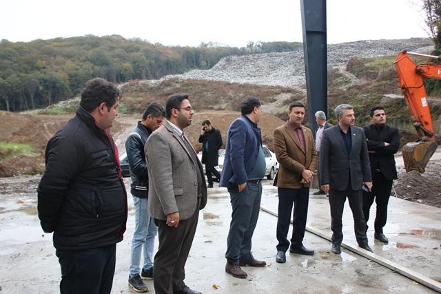 گزارش تصویری بازدید شهردار رشت از پیشرفت روند احداث تصفیه خانه سراوان