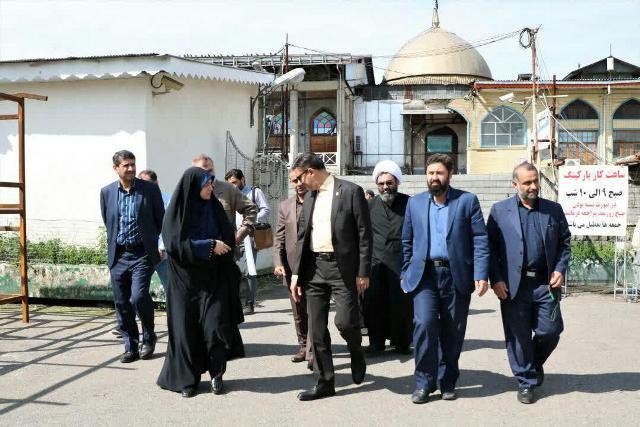 گزارش تصویری بازدید شهردار رشت از محله خواهر امام در راستای توسعه و باز آفرینی محلی