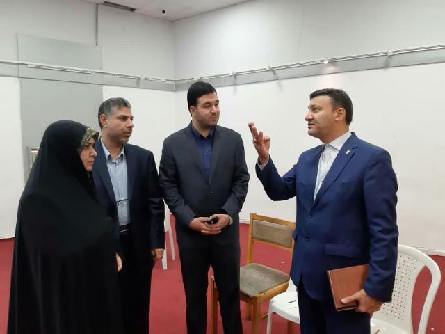 بازدید شهردار رشت از سازمان فرهنگی، اجتماعی و ورزشی شهرداری رشت