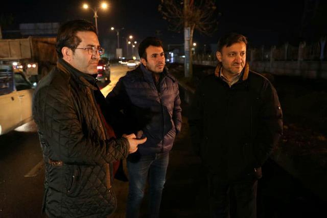 اجرای عملیات عمرانی در مسیر جانبازان تا میدان امام حسین(ع)