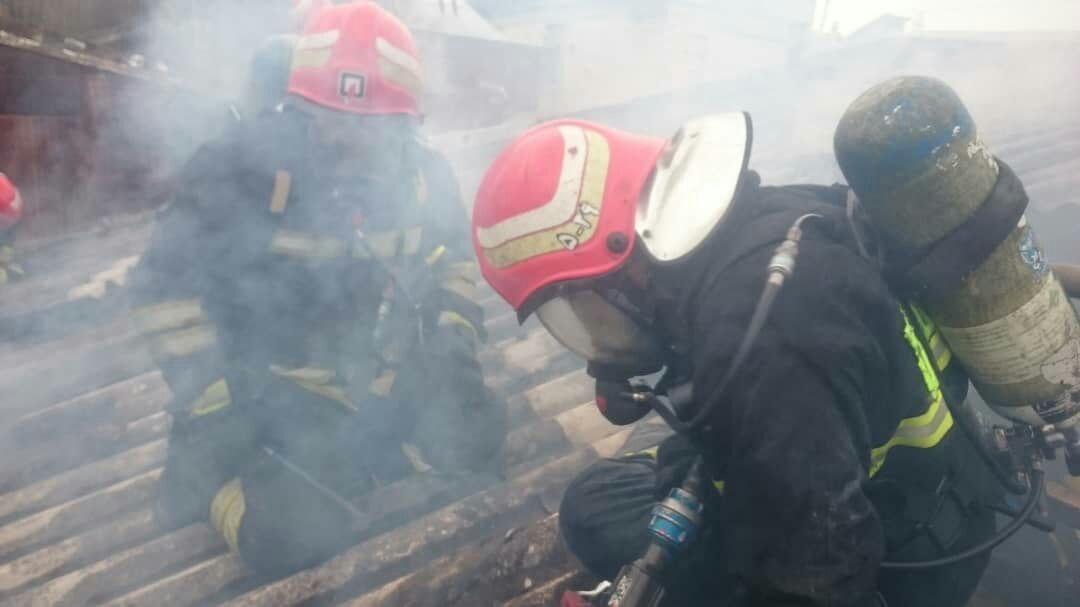 نگاهی کوتاه به تلاش آتش نشانان شهر باران در هفته ای که گذشت