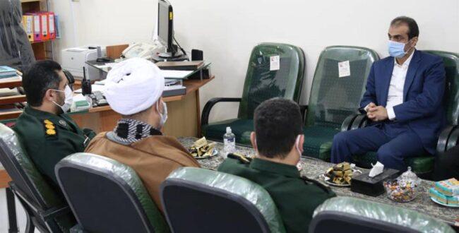 در دیدار شهردار رشت با فرمانده سپاه ناحیه مرکزی رشت به مناسبت هفته بسیج عنوان شد: لزوم ترویج تفکر بسیجی در جامعه