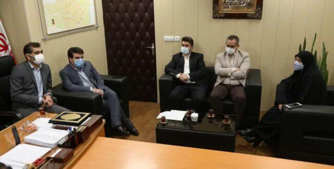 مراسم معارفه چهار مدیر جدید شهرداری رشت برگزار شد