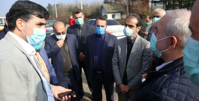 بازدید شهردار رشت به اتفاق معاون سازمان حمل و نقل جادهای کشور از پروژه تعریض خیابان لاکان