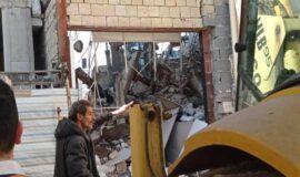 تخریب یک ملک خلافساز دیگر در شهر رشت